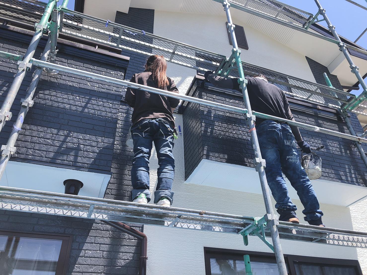 金井淵町外壁塗装工事