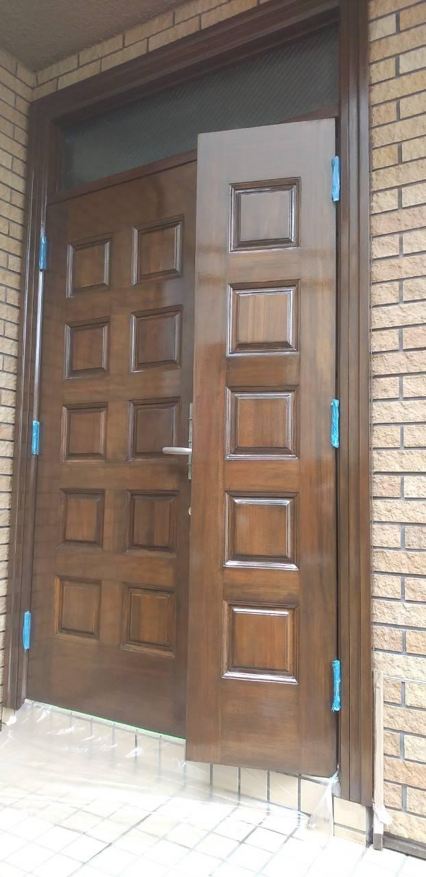 世田谷区玄関ドアを綺麗に!