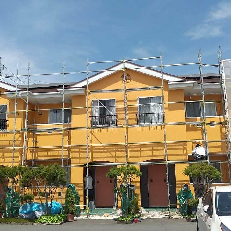 箕郷町アパート外壁塗装工事